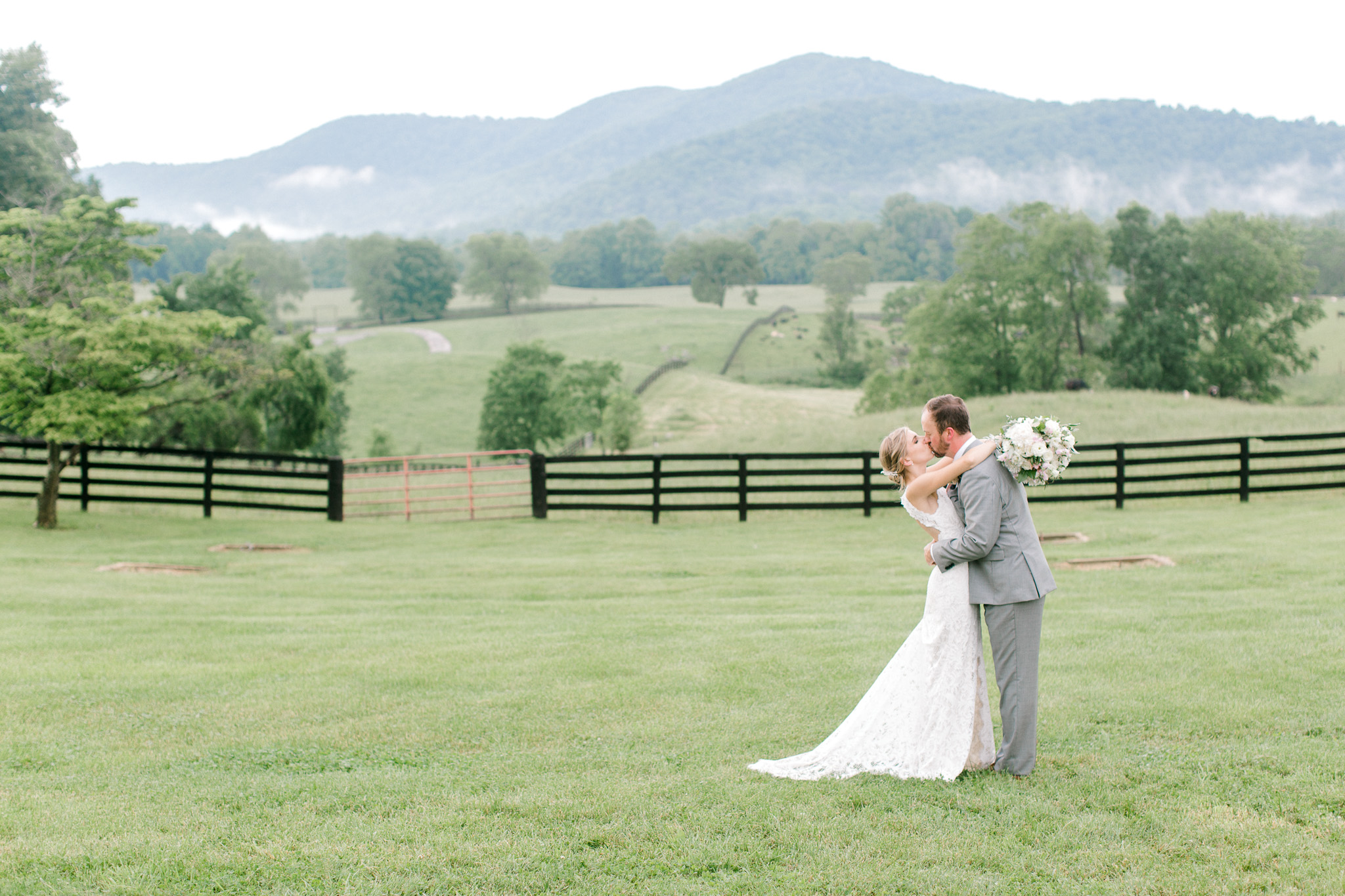 Bride and Groom first look at Marriott Ranch with Northern Virginia Wedding Photographer Sarah Botta Photography