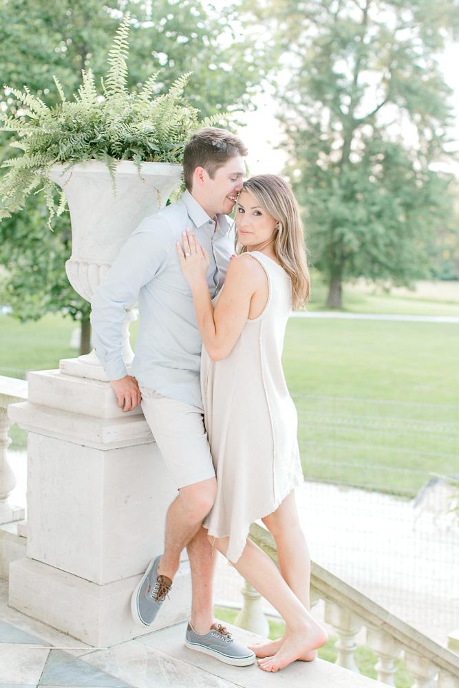 Hampton Mansion Engagement Session with Sarah Botta Photography