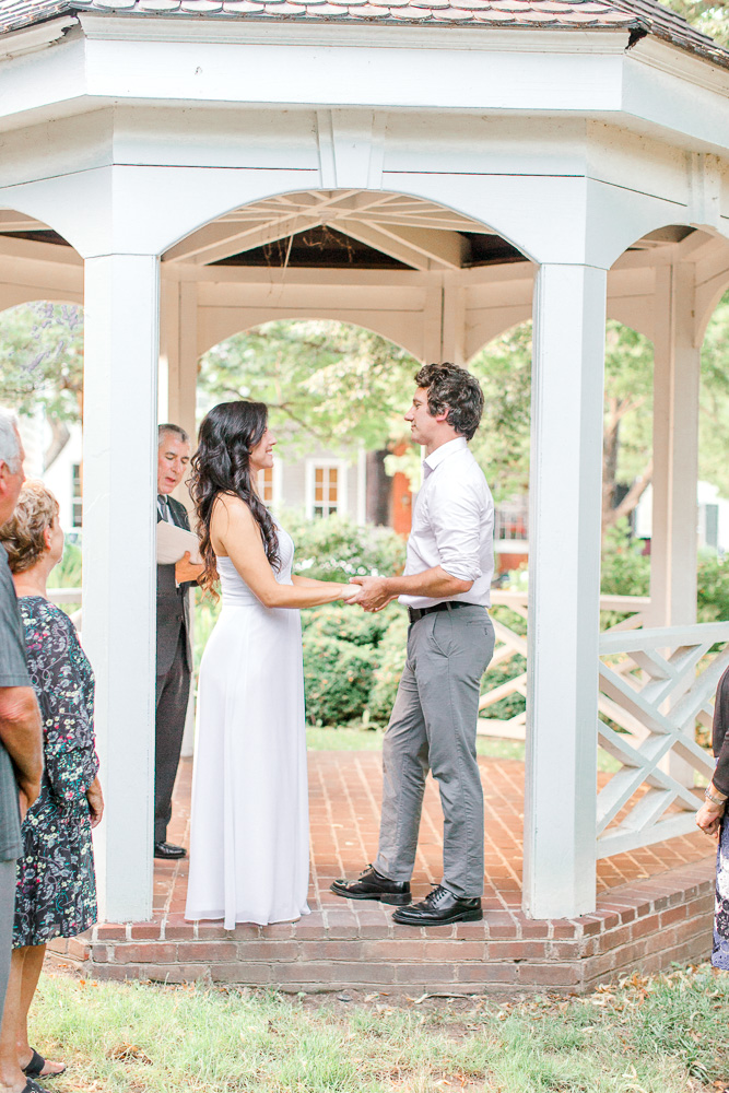 Old Town Alexandria Elopement at Carlyle House with Virginia wedding photographer Sarah Botta Photography